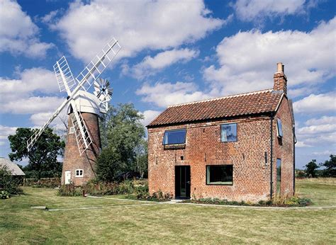 Home Design Modern Plans Cottage Amp Windmill Hunsett Mill Norfolk England By Acme