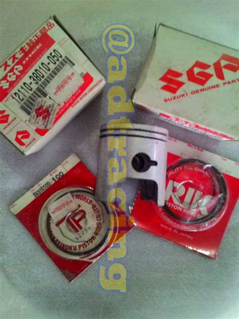 Blok Seher Satria Fu Emp adtracing spare parts motor cbu dan part racing drag