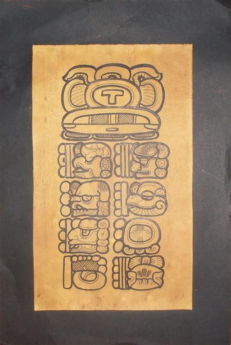 imagenes de estelas egipcias broches mayas estelas mayas en cartulina envejecida