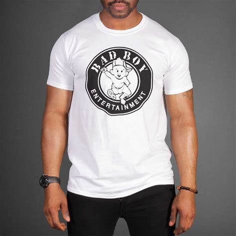 Tshirt Badboy 2 by Puff Bad Boy Records Logo T Shirt Wehustle