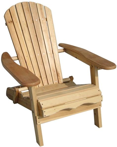 Unfinished Wood Adirondack Chairs by Merry Products Foldable Adirondack Chair Fir Wood