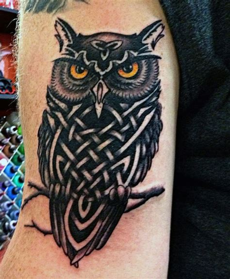 tribal owls tattoos 70 owl tattoos for creature of the designs