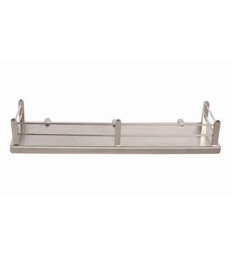 Regis Bathroom Kitchen Stainless Steel Wall Shelf Rack Stainless Steel Bathroom Shelves