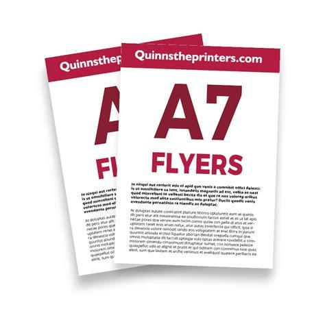 cheap a7 flyer printing for trade quinnstheprinters com