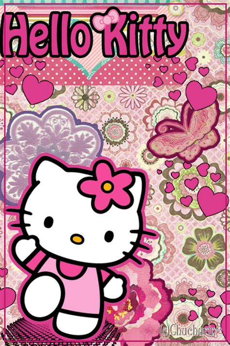 wallpaper of hello kitty for phones hello kitty phone wallpaper by strawberrycakebunny on