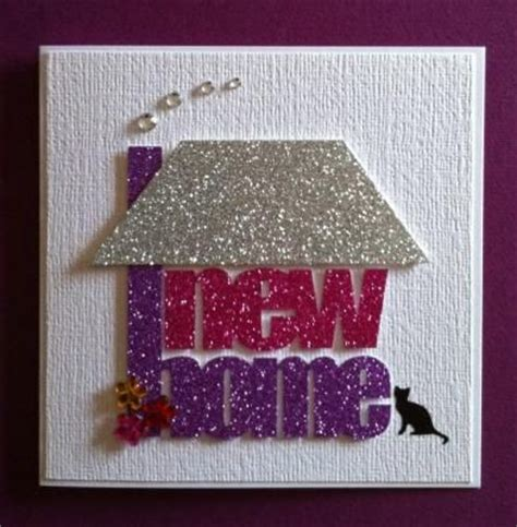 New Home Handmade Cards - handmade new home card must do cards