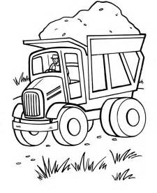 truck colouring sheet free printable dump truck coloring pages for