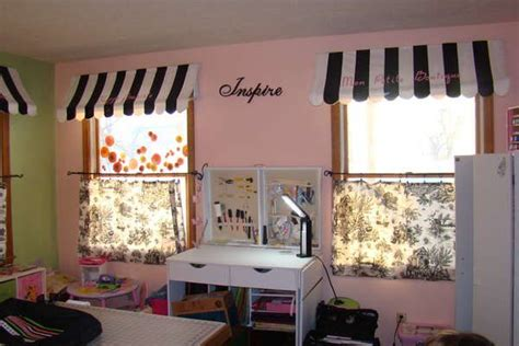 black and white paris bedroom awnings for valances toile cafe curtains paris bedroom