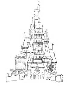 disney castle coloring pages coloring