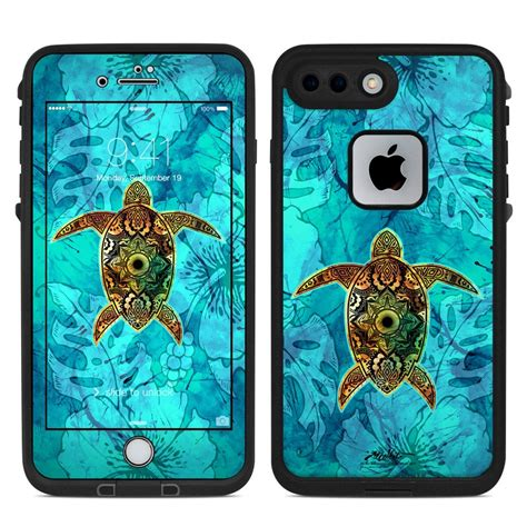 lifeproof iphone   fre case skin sacred honu  al