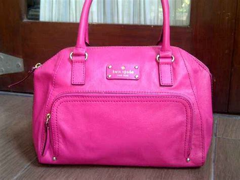Tas Selempang Wanita Kate Spade Pink Bag Original Authentic kate spade small pink the boutique