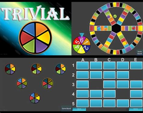 Trivial Pursuit Template For Powerpoint