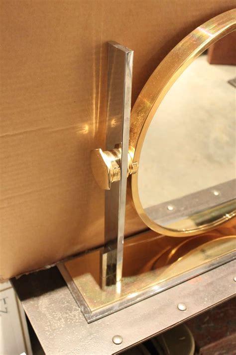 Vanity Mirror Size by Karl Springer Large Size Table Top Vanity Mirror 1970 At
