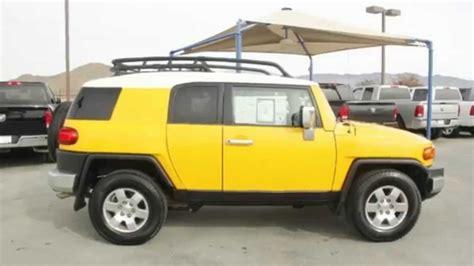 fj cruiser dealership used car special 2007 toyota fj cruiser hemet chrysler