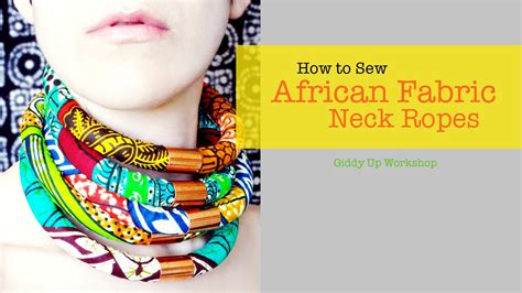diy african rope necklace fashion diy african necklace neck ropes youtube