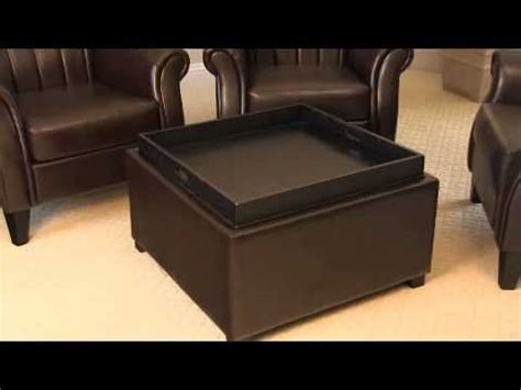 Ottoman Tray Topper Great Modern Ottoman With Tray Top For Residence Decor Rinceweb