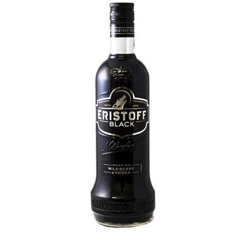 black vodka eristoff black vodka