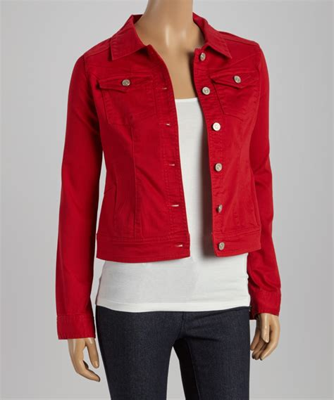 colored womens colored denim womens jacket creative india exports