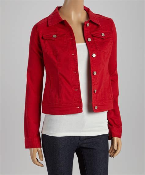 jacket color colored denim womens jacket creative india exports