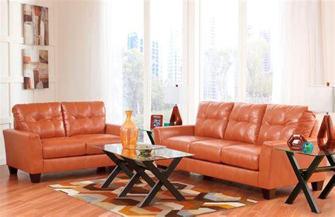 Orange Living Room Sets Paulie Durablend Orange Living Room Set From 27002 38 35 Coleman Furniture