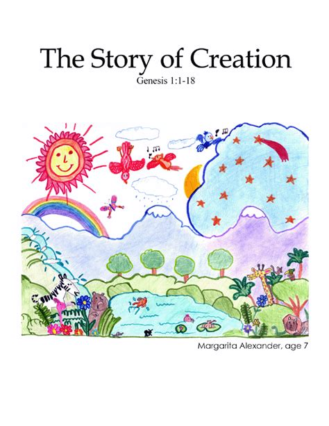 new creations coloring book series santa books creation genesis 1 1 18 color me bible ch 1 pg 1