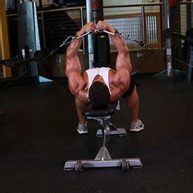 bench flyes flat bench cable flyes exercise guide and video