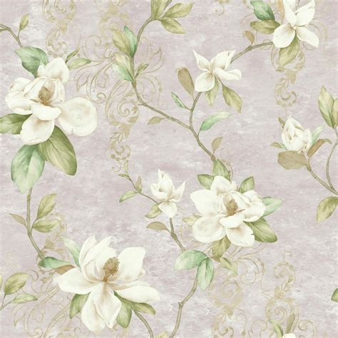 york wallcoverings magnolia trail wallpaper