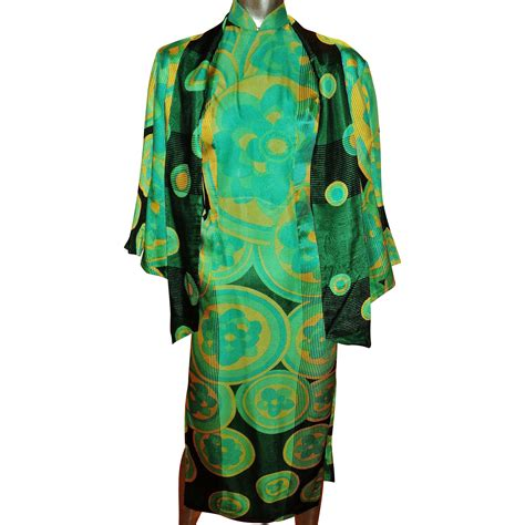 Dress Chipao vintage 1940 s silk cheongsam chipao dress and jacket ensemble raised from haute vintage on ruby