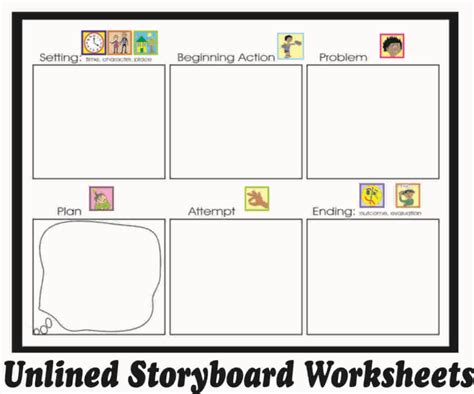 story structure worksheets storyboards complete narrative structure