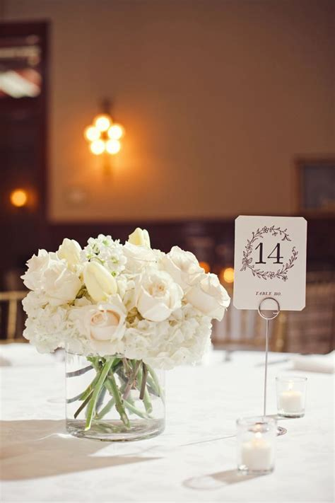 simple flower arrangements for tables simple and incredibly elegant blacktie weddingdecor