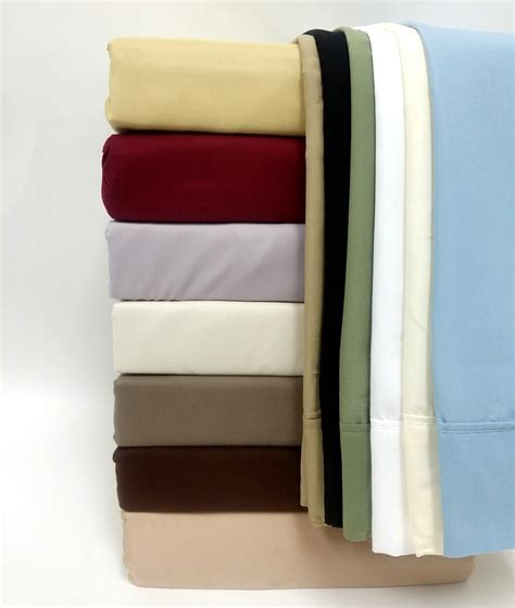 bed sheet thread count 5 sizes 1500 thread count solid cotton bed sheet sets