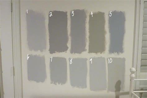 comparison of benjamin moore grays 1 metro gray 2 stormy monday 3 silver dollar 4 silver fox