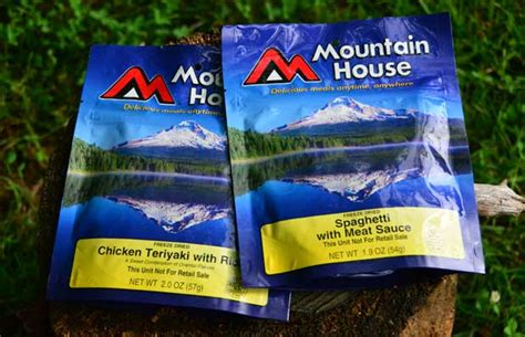 mountain house food alternatives to mountain house freeze dried backpacking