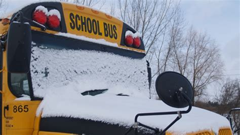 snow squalls and high winds cause cancellations road