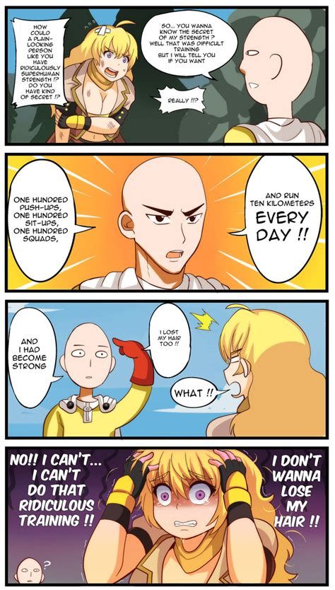 One Piece Kink Meme - onepunchman x rwby how to get stronger by rouzille on