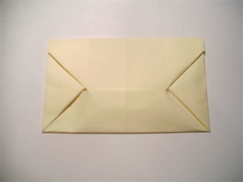 How To Make An Origami Letter - origami envelope