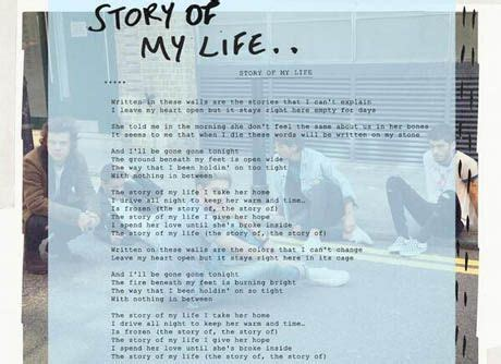 one direction story of my testo one direction story of my testo e traduzione