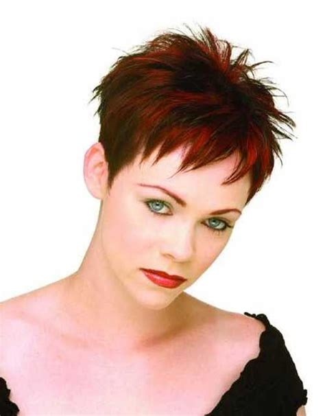 very cropped pixie haircut for thick hair spiky pixie cropped haircut buildings pinterest