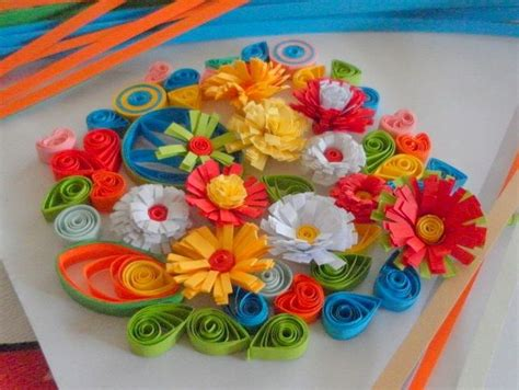 How To Make Paper Quilling Flowers - 25 best ideas about paper quilling designs on