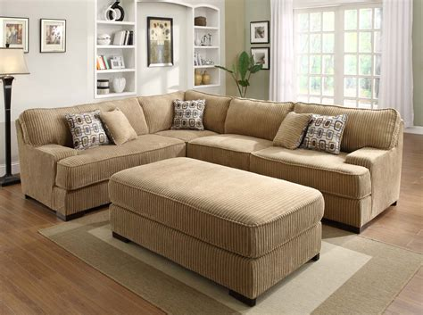 Sectional Sofa by Homelegance Minnis Sectional Sofa Set Brown U9759 Sect Homelegancefurnitureonline