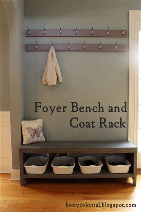coat shoe rack bench the coat rack and shoe bench nine months later