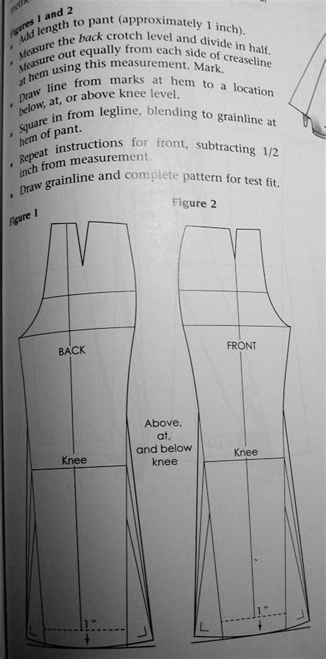 pattern drafting helen joseph armstrong create boot cut from straight leg sewing discussion topic