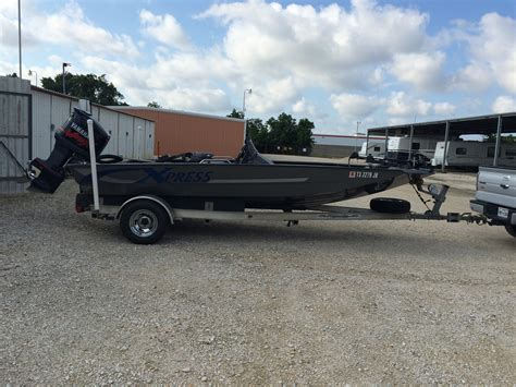 used xpress aluminum bass boats for sale used bass xpress boats for sale boats