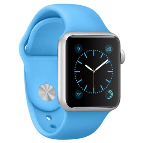 apple watch light blue apple watch sport mlcg2fd a aluminium 38mm blue