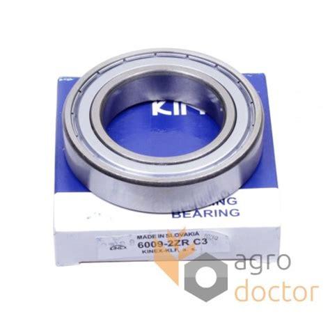 Bearing 6009 Zz C3 6009 2z C3 6009 2zr c3 kinex groove bearing oem az20216 for deere combine harvester buy