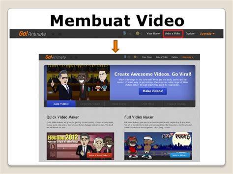 belajar membuat video animasi belajar animasi dengan go animate yudhistira 11th