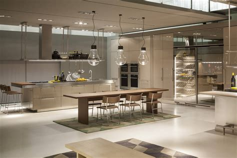 arclinea arredamenti arclinea rinnova lo showroom aziendale ambiente cucina