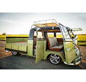 Classic 1966 Volkswagen Double Cab For Sale Detailed