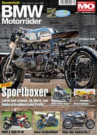 Motorrad Zeitschrift Aktuelle Ausgabe by Bmw Motorr 228 Der Ausgabe 62 Motorrad Magazin Mo