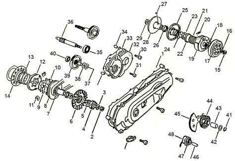 Yamaha Oem Parts Transmission Variator Yamaha Bw S Booster